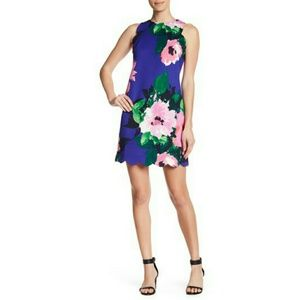 Vince Camuto Floral Shift Dress